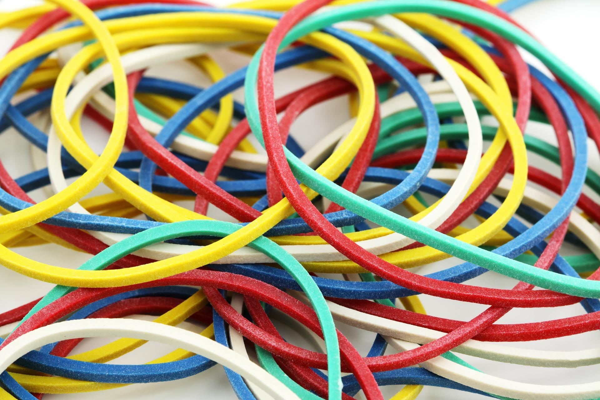 Kolorowe gumy